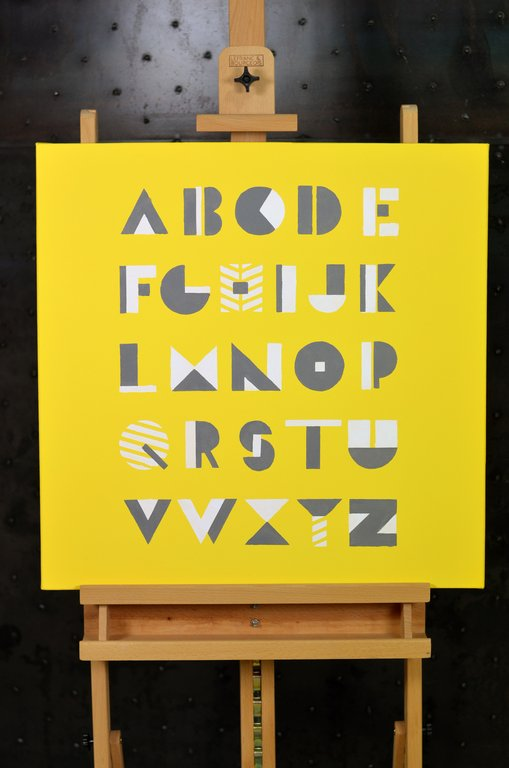 R aliser un tableau ab c daire yellow grey cultura - Realiser un tableau ...