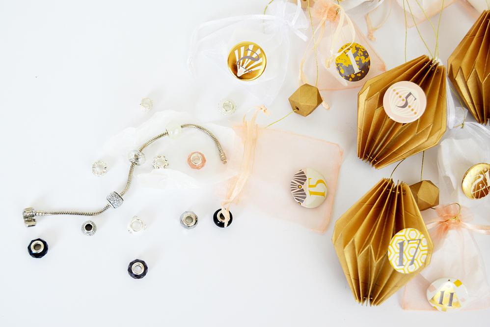 Chaque jour une surprise pour un bijou à confectionner est à découvrir !