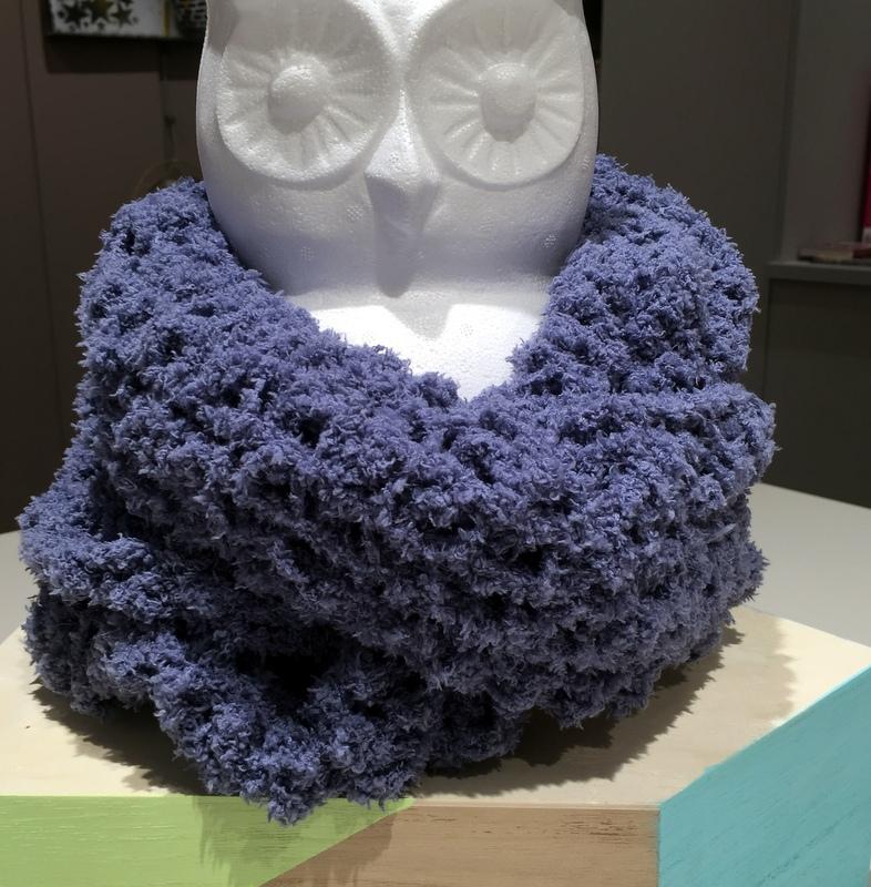 Faire Un Snood Facile Au Crochet Cultura