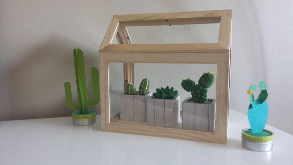 Cactus en pâte polymère