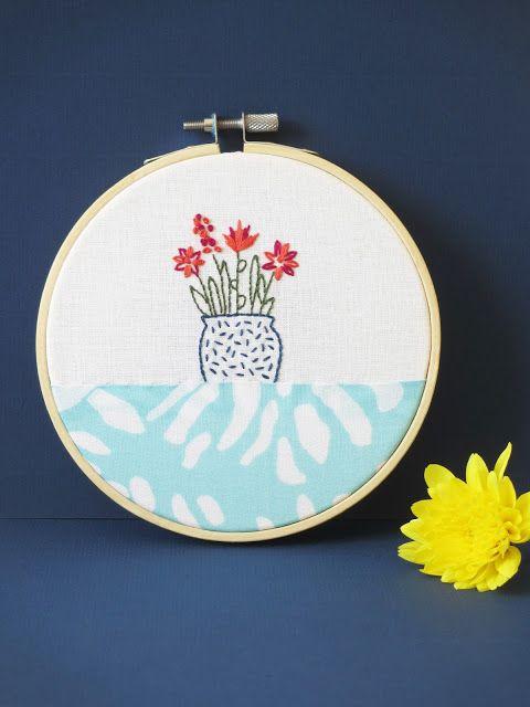 """Hoop art """"Fleurs coupées"""" (c) Les Plaisanteries"""