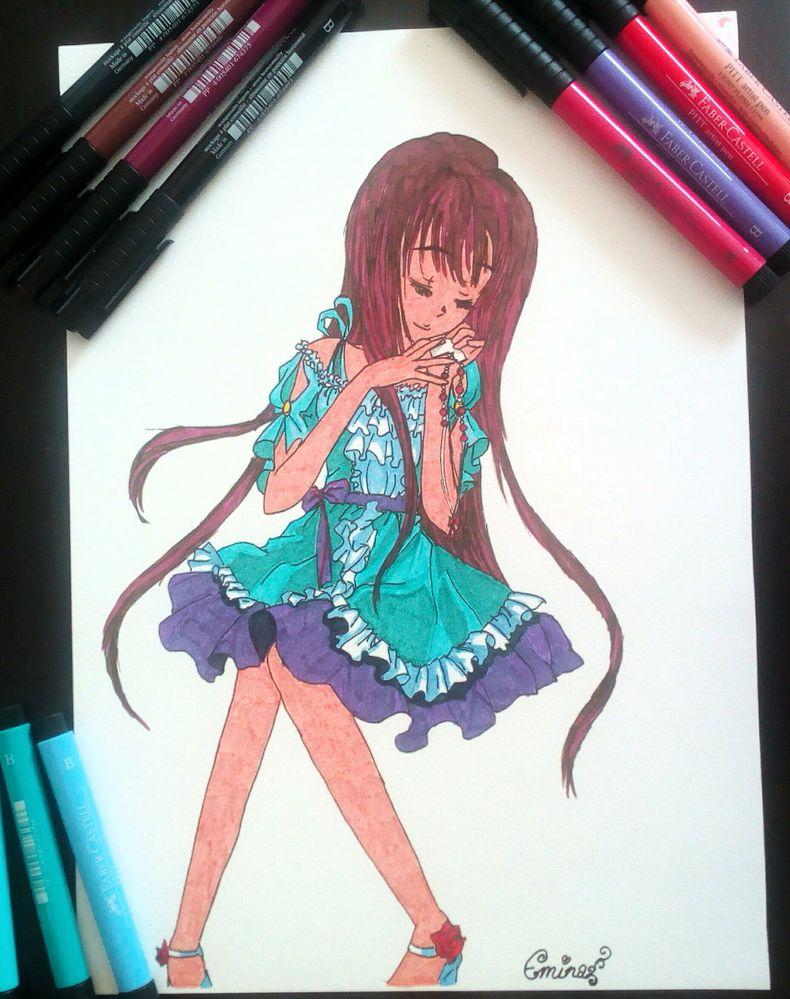 Fille Magique Princesse Manga Emina Cultura