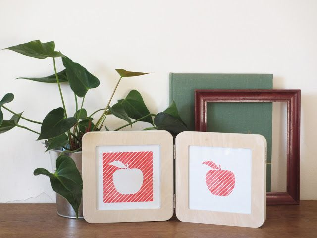 Pomme à pile ou face (c) Les Plaisanteries d'après une idée de Charlotte Coing-Roy