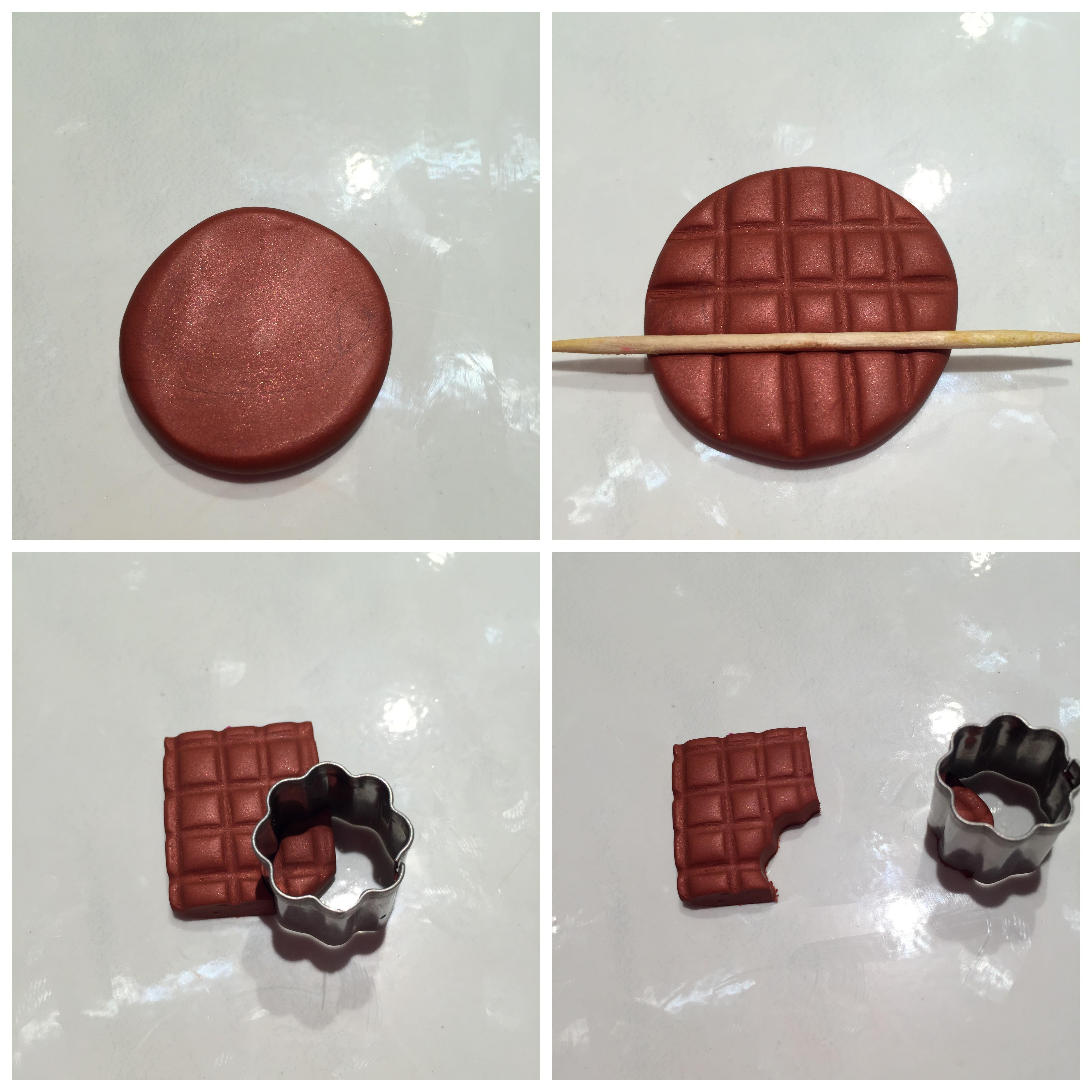 Fabriquer Porte Clé Facile porte clés gourmandises en pâte fimo