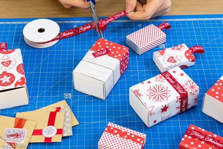 7. Personnaliser les cadeaux à offrir avec papiers et rubans de la collection.