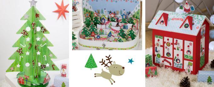 Notre collection Vivement Noël à retrouver dans le livre.