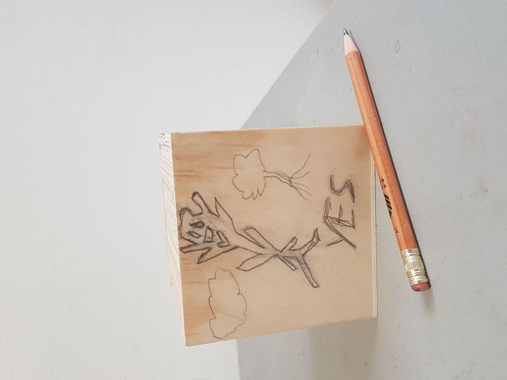 2e dessin sur bois... dans la même idée