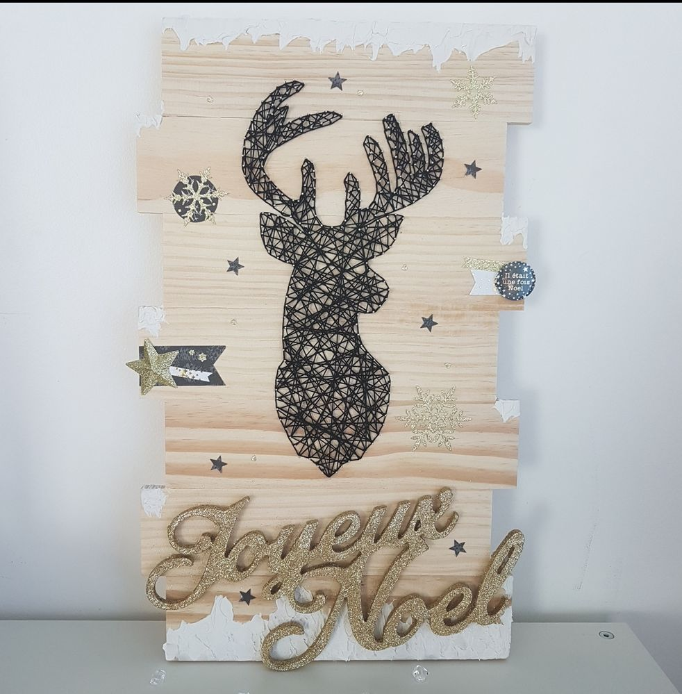 String art Noël Hygge