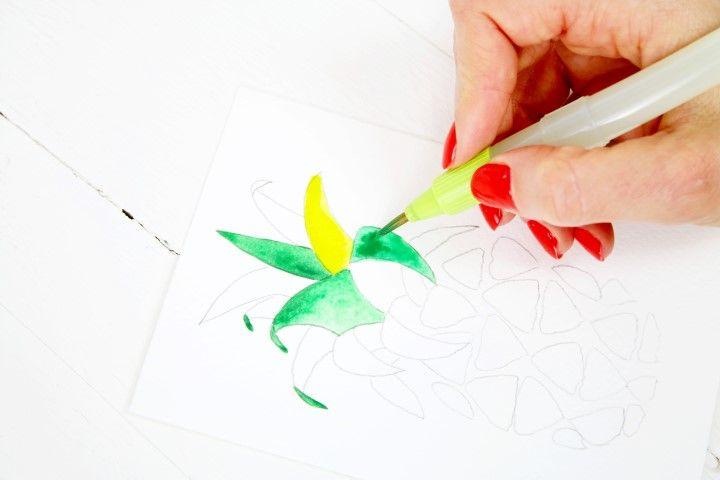 5. Travailler avec d'autres nuances de couleurs.