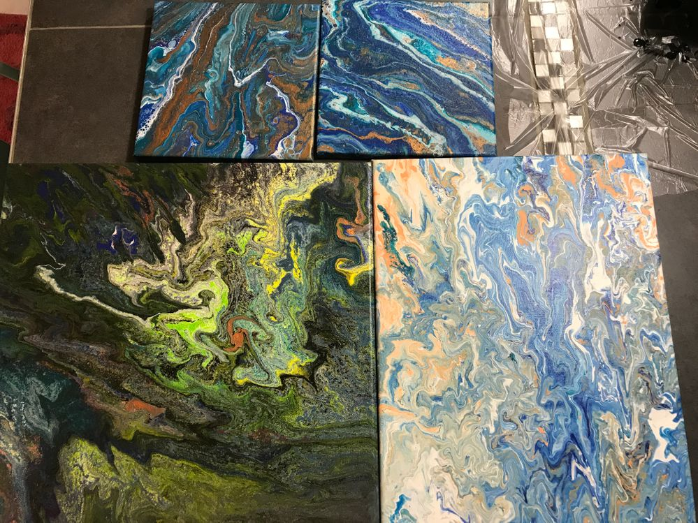 Technique Acrylique Pouring Cultura