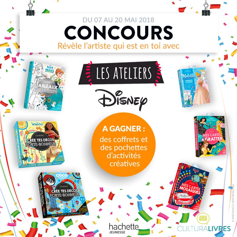 Concours - Jouez avec les Ateliers Disney !