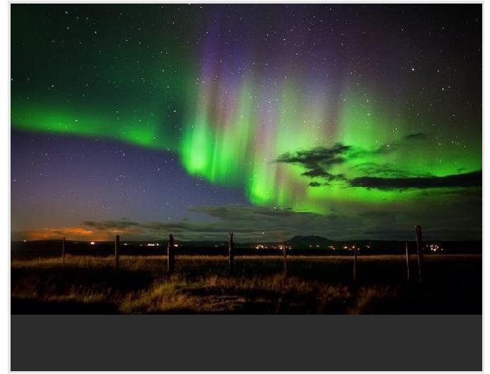 Ma résolution... tout faire pour réaliser mon grand rêve... voir une aurore boréale...