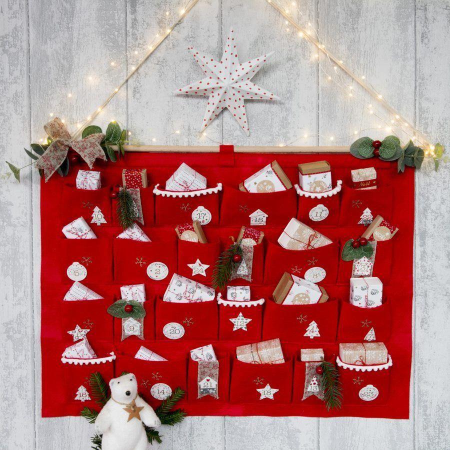 Fabriquer Deco Noel En Feutrine dossier : du rouge et du blanc pour votre déco de  - cultura