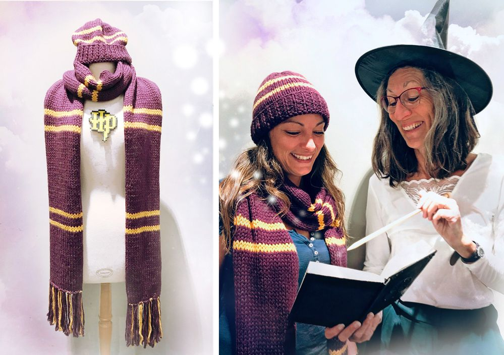 Diy Echarpe Bonnet Harry Potter Cultura