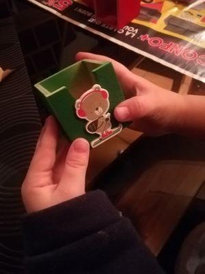 4. Mon fils a adoré collé ces petits numéros de l'Avent en mousse !