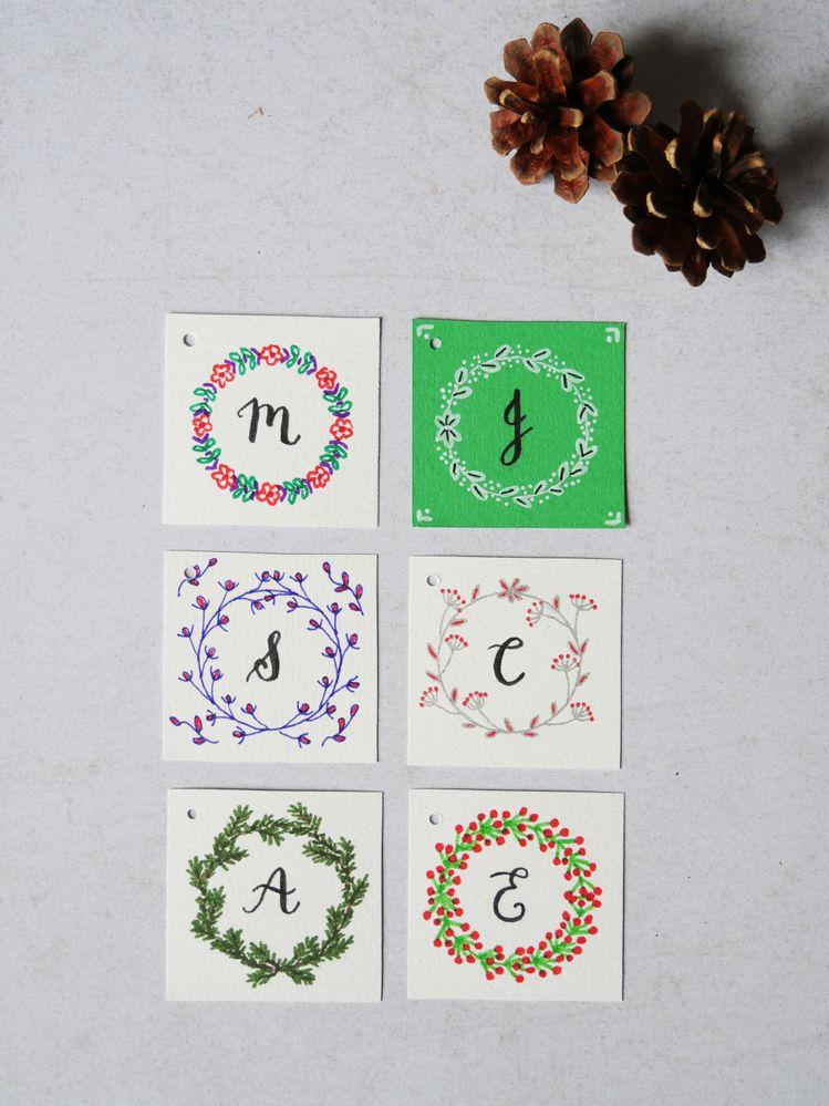 Etiquettes-cadeaux de Noël (c) Les Plaisanteries