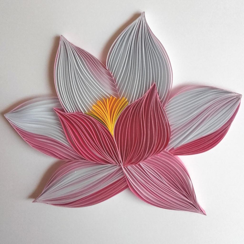la fleur de lotus quilling cultura. Black Bedroom Furniture Sets. Home Design Ideas