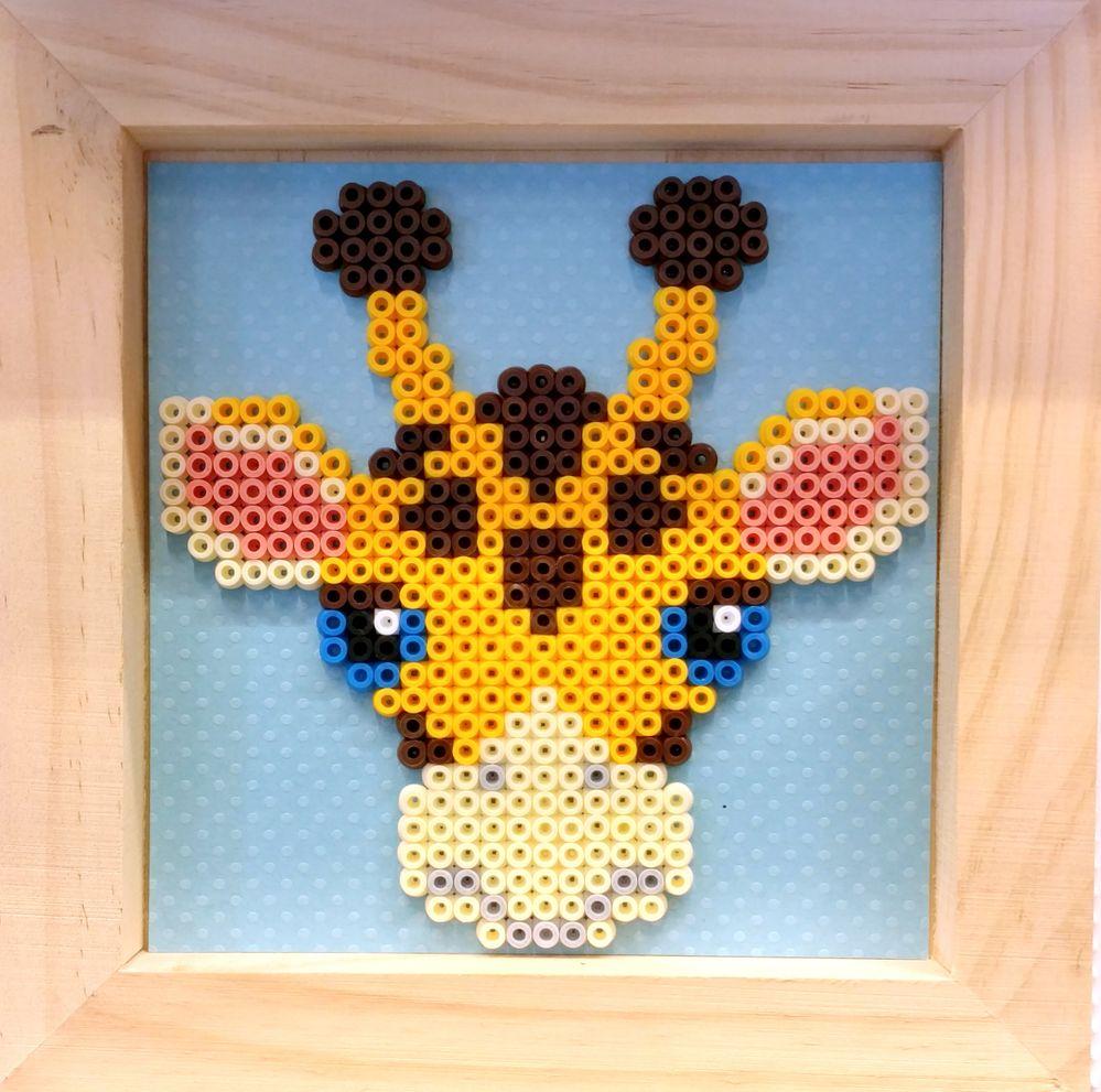 Cadres Hama girafe.jpg