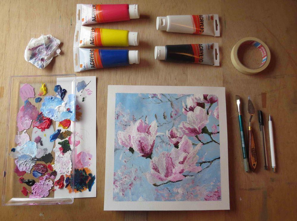 Fleurs de Magnolia.JPG