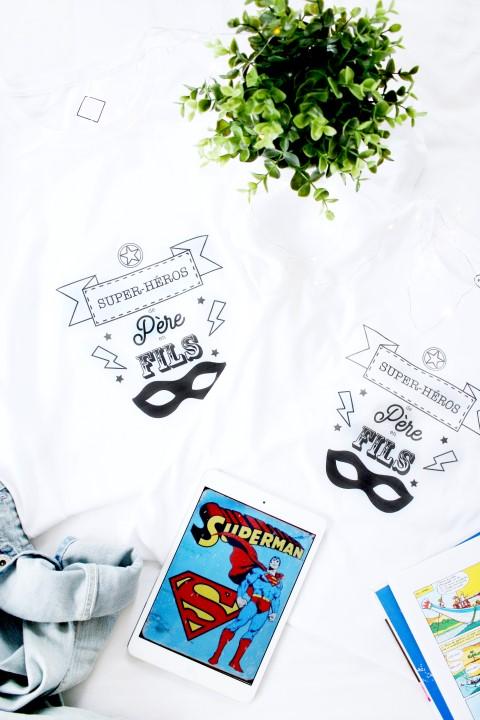 Ca y est votre duo de tee-shirts est prêt ! Ca va faire des heureux (et des fiers!!!)