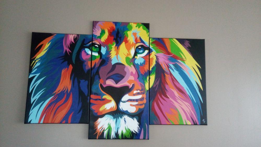 lion abstait triptyque.jpg