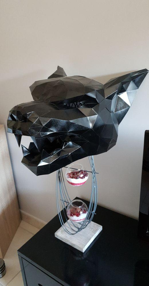 Papercraft loup