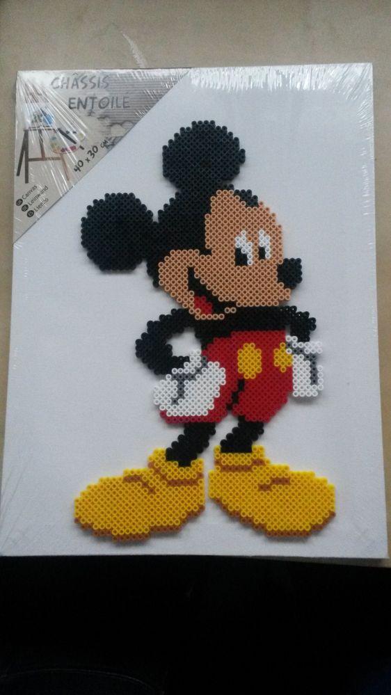 Mickey en Perles HAMA