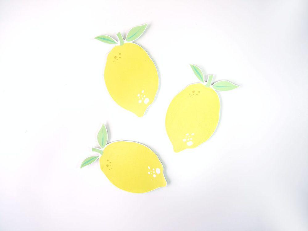 6. Préparer autant de citrons que souhaités pour la décoration.