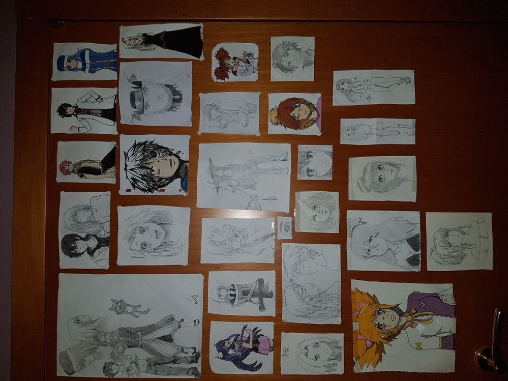 Je participe pour ma fille, autodidacte, de 14 ans qui dessine comme elle respire et qui pourrait parfaire encore sa technique