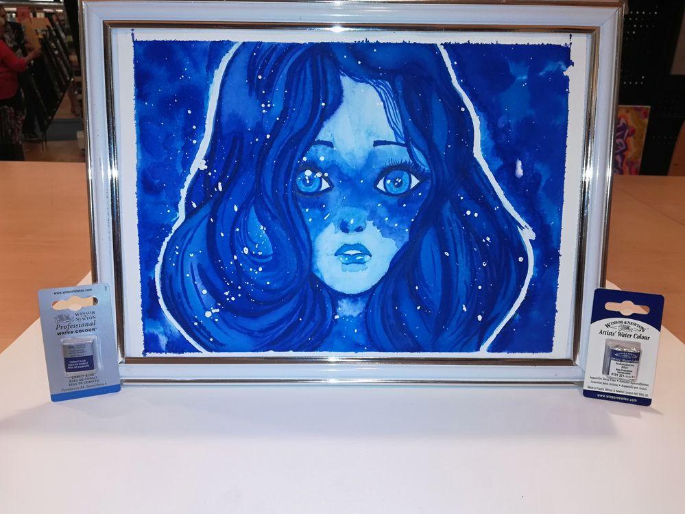 La fille en bleu (lylyrozz)