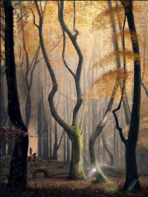 Les Gardiens de la Terre - illustration arbres