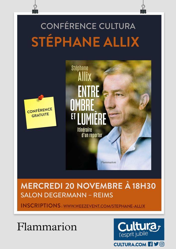 Conférence Stéphane Allix