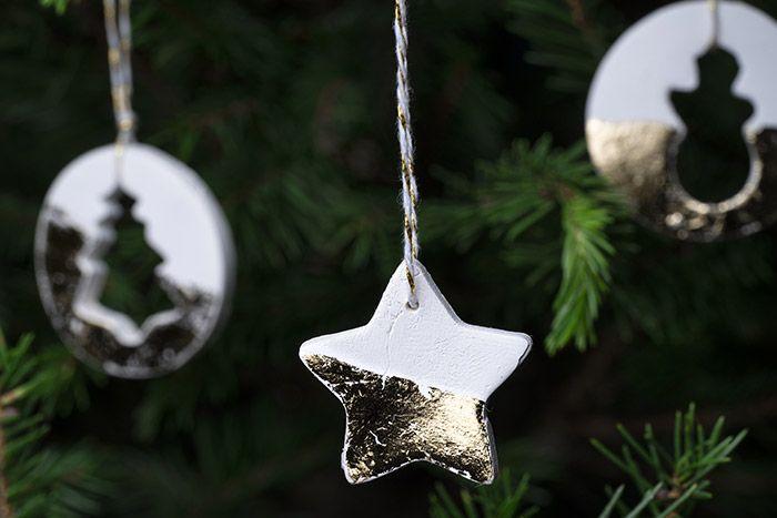 7. Les formes peuvent être suspendues pour décorer le sapin.