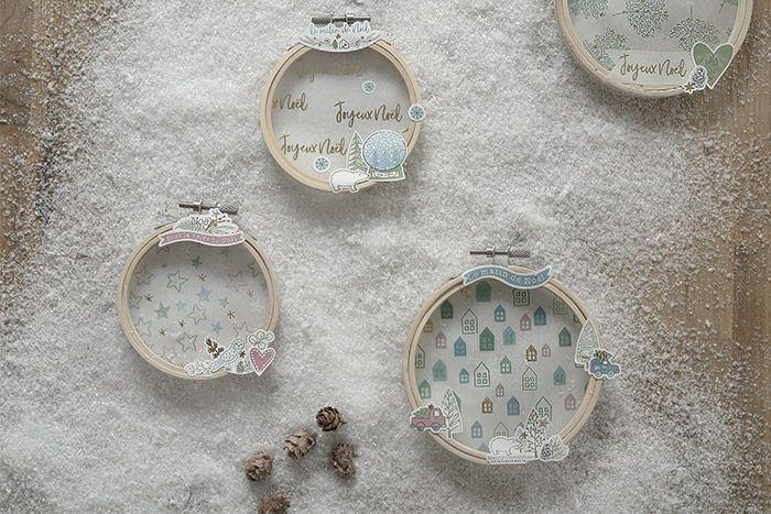 5. Les mini tambours sont prêts pour décorer le sapin de Noël.