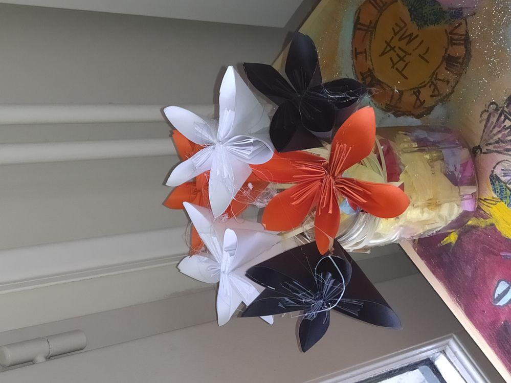 Bouquet de fleurs intemporelles...