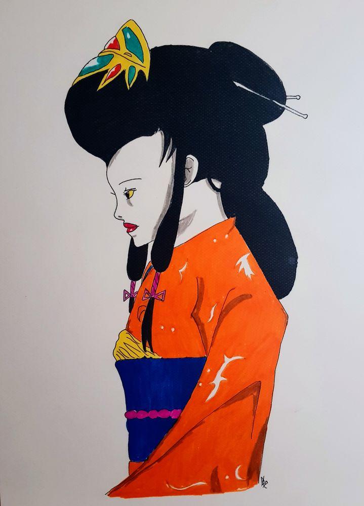 Geisha by Cub Monot 14ans