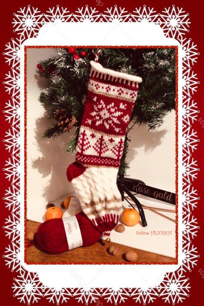 Chaussette à cadeaux pour les pas sages !