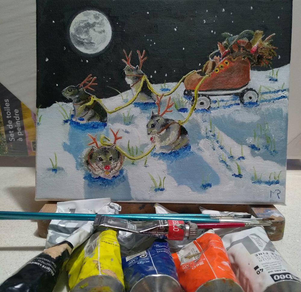 Le patin de Noël