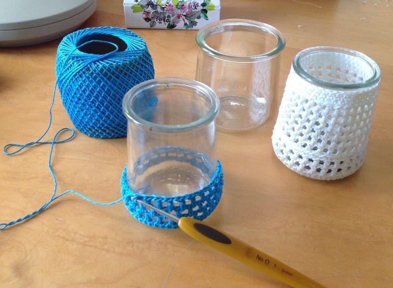 Crocheté en coton