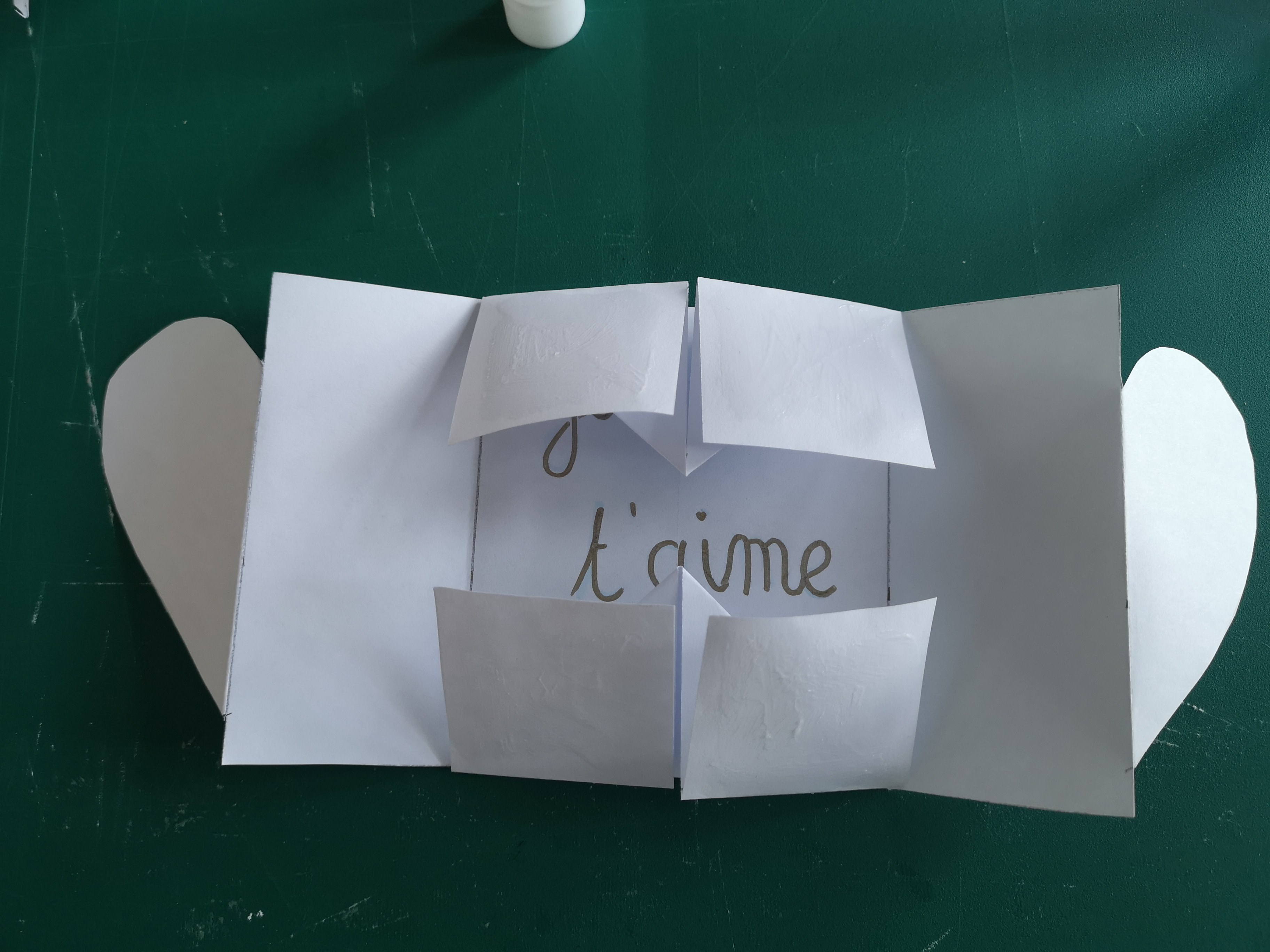Carte Origami St Valentin - Cultura
