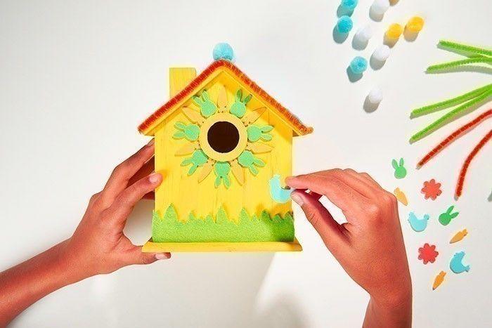ETAPE 8/8 La maison est terminée pour décorer la chambre de l'enfant et y cacher tous ses trésors.