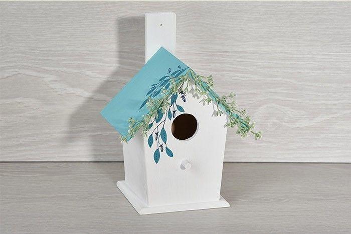 ETAPE 6/6 Le nichoir est terminé pour décorer votre intérieur ou être accroché à un arbre.
