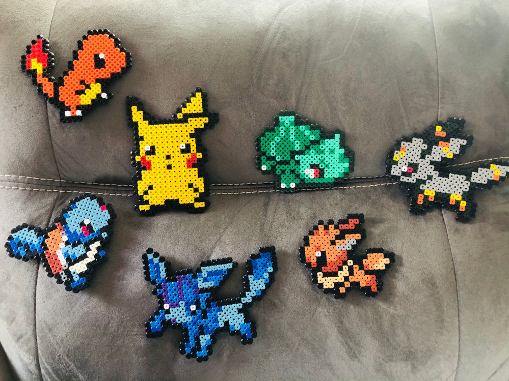 Pokémon en perles Hama !