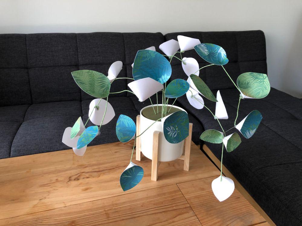 Plante en papier Végétal Chic