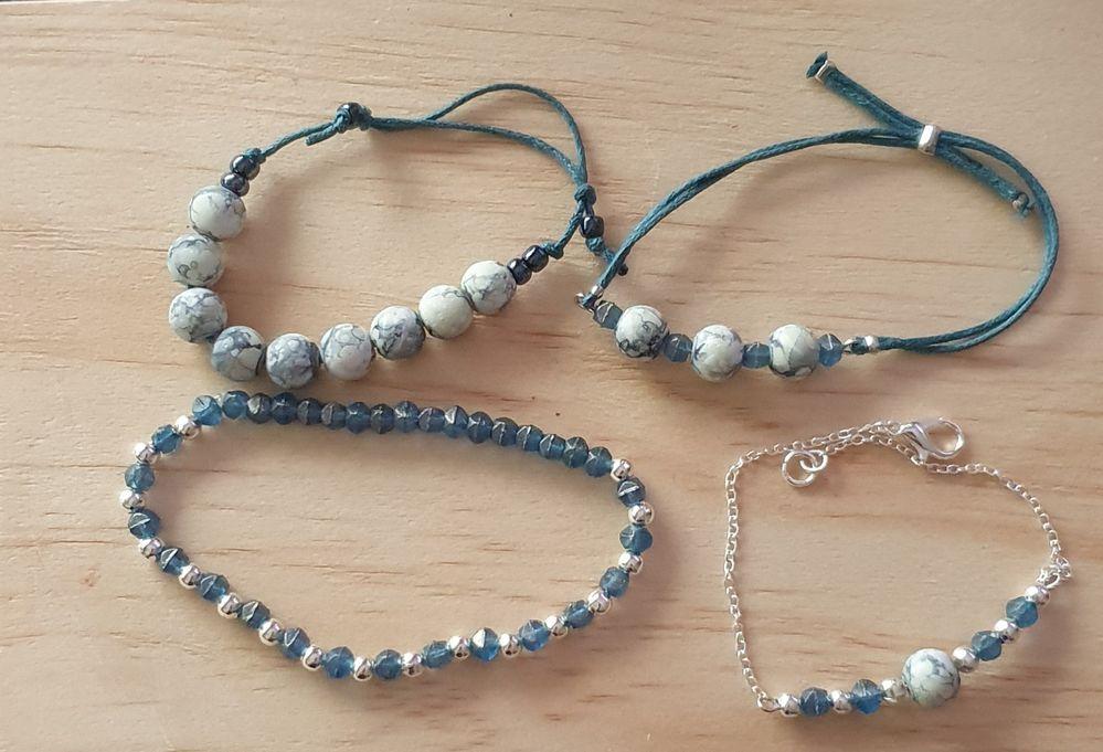Bracelets créés avec les produits Cultura. Merci à @Sandrine-Cultura-Rivesaltes pour ses ateliers.