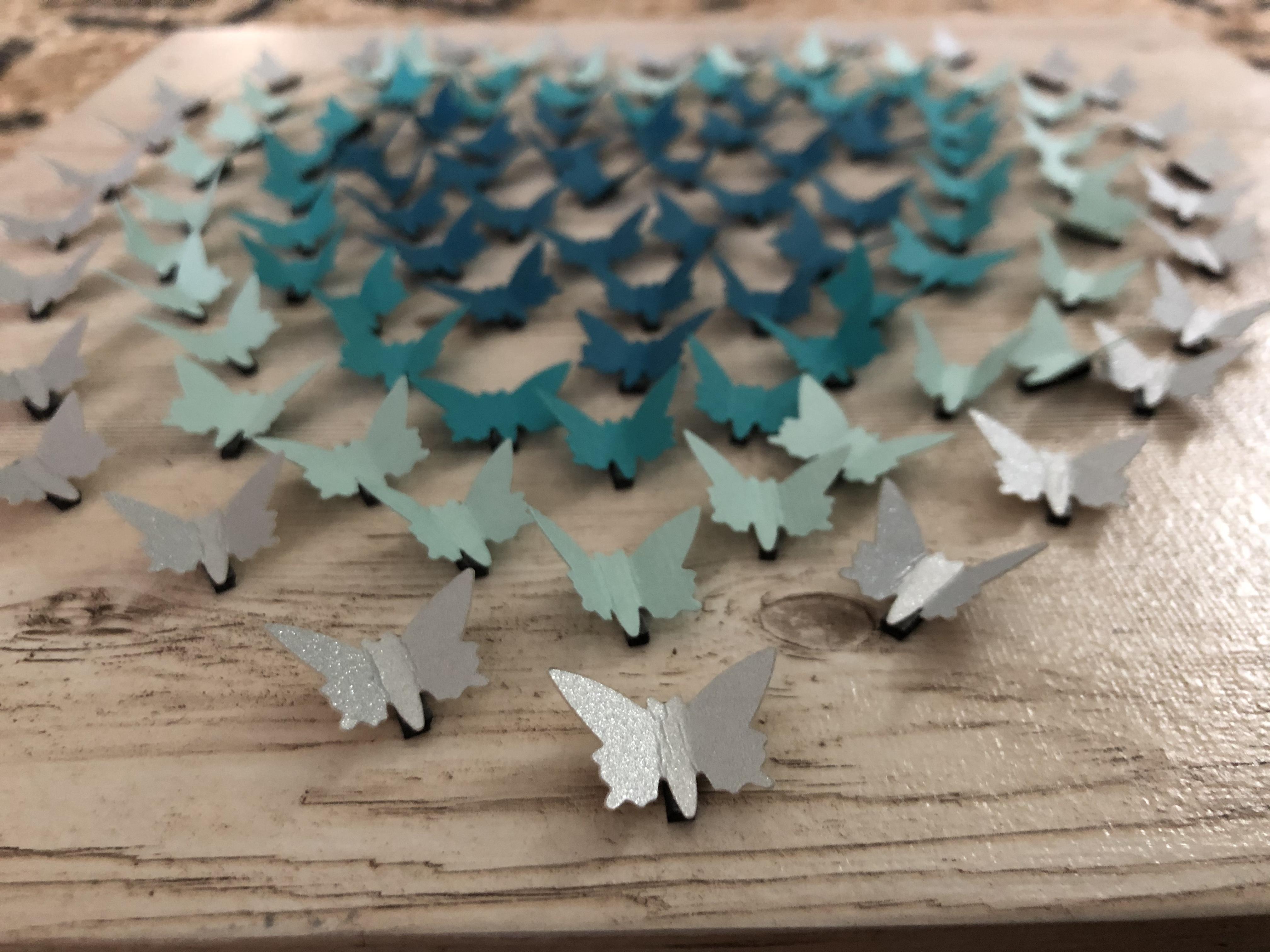 Tableau papillons mouvants - Cultura