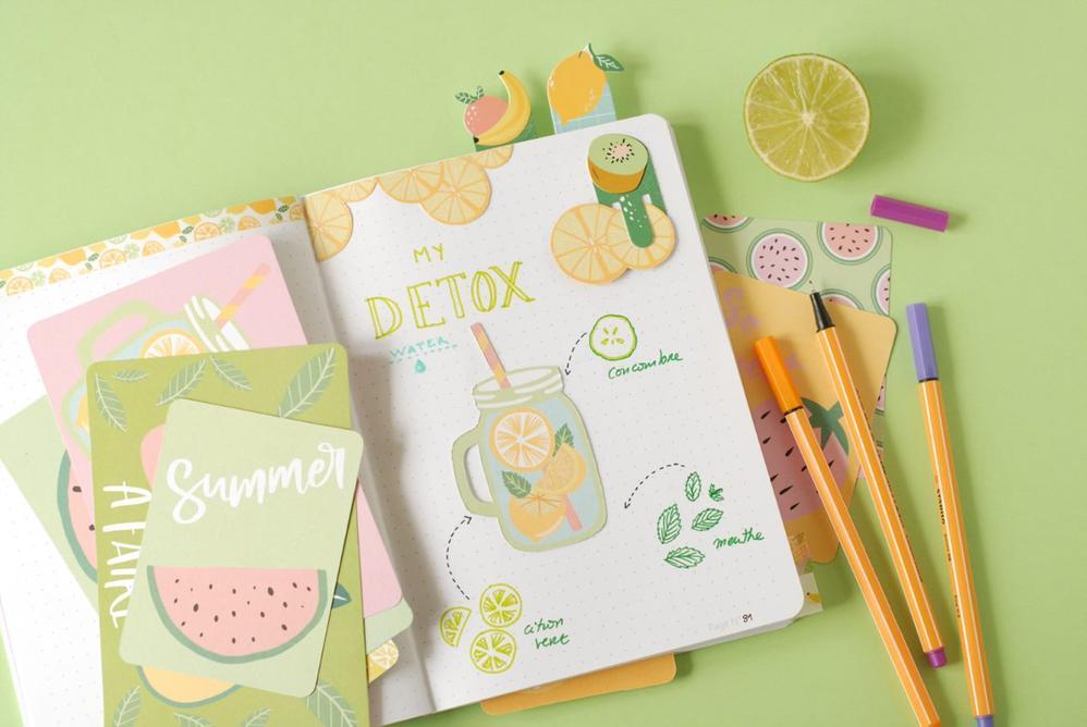 RÉSULTAT Votre carnet est prêt à vous suivre tout l'été !