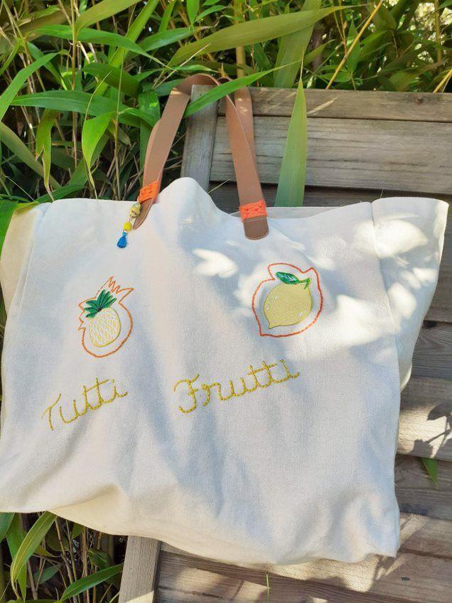 ETAPE 5/5 Votre sac cabas est prêt pour l'été.
